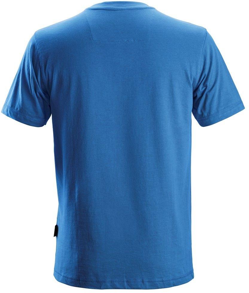 T-shirt koszulka męska, niebieska, rozmiar XL, 2502 Snickers [25025600007]
