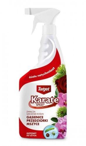 Karate spray  zwalcza szkodniki roślin domowych  750 ml target