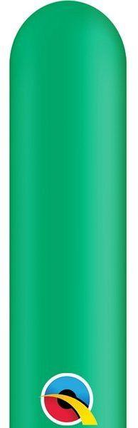 Balony rurki modeliny 10 sztuk c. zielone 260Q-ciemnozielony