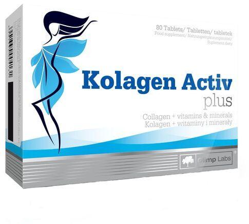 Olimp Kolagen Activ Plus - Mocne stawy, skóra, włosy i paznokcie - 80 tabletek