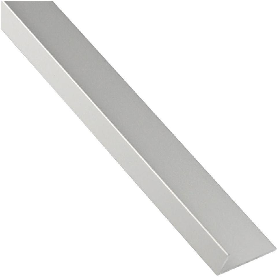 Kątownik aluminiowy 1 m x 19.5 x 11.5 mm matowy srebrny STANDERS