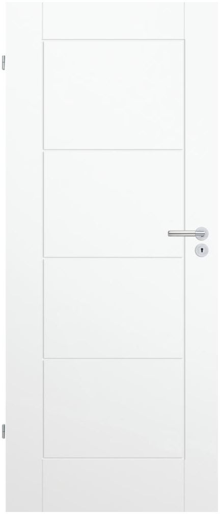 Skrzydło drzwiowe pełne NILO 80 Lewe Białe CLASSEN