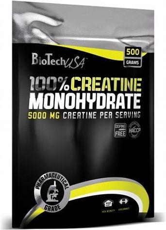 BIOTECH CREATINE MONOHYDRATE 500 g BAG
