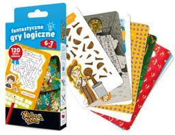 Xplore team Fantastyczne gry logiczne 6-7 lat ZAKŁADKA DO KSIĄŻEK GRATIS DO KAŻDEGO ZAMÓWIENIA