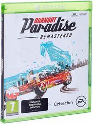EA Burnout Paradise Remastered, Xbox One