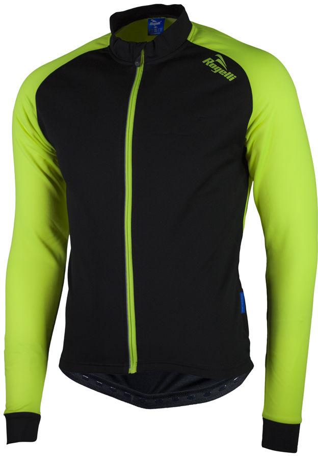 ROGELLI BIKE 001.525 CALUSO 2.0 bluza rowerowa czarno-fluorowa Rozmiar: XL,rogelli caluso 2.0 black-fluo