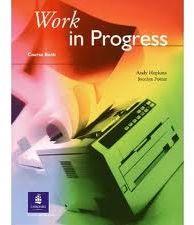 Work in progress- podręcznik