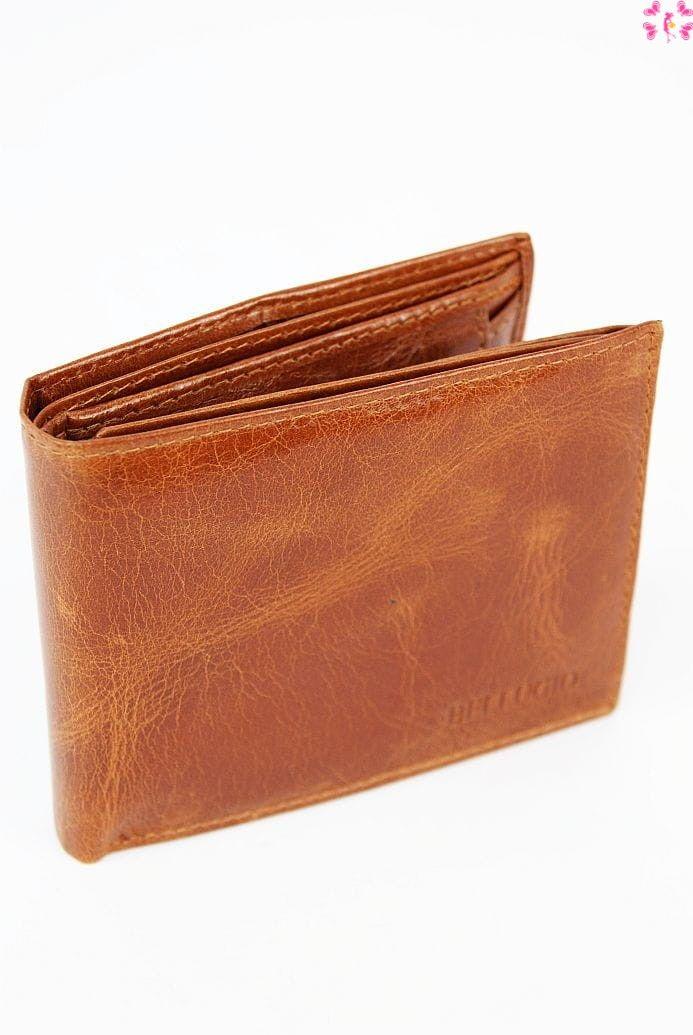 Skórzany portfel męski Bellugio pm29