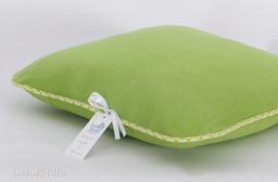 MAMO-TATO Poduszka polarowa 40x40 zielona