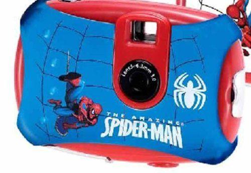 Lexibook Spiderman cyfrowy aparat dla dzieci (1,3 megapikseli)