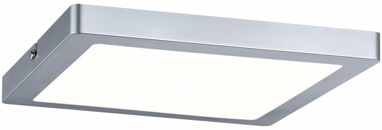 Paulmann 70935 panel LED Atria prostokątny z 1 x 16 W lampa sufitowa chrom matowy lampa sufitowa tworzywo sztuczne lampa do salonu 4000 K, 220 x 220 mm