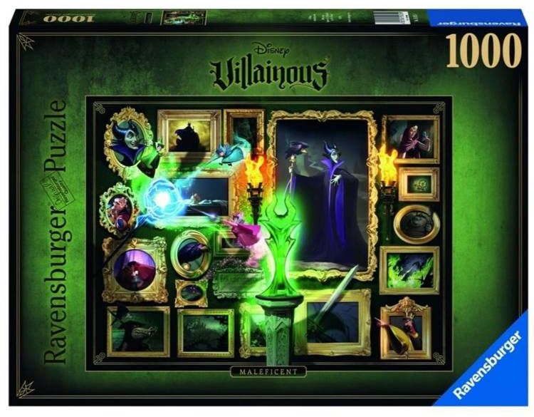 Puzzle 1000 Villainous. Czarownica - Ravensburger