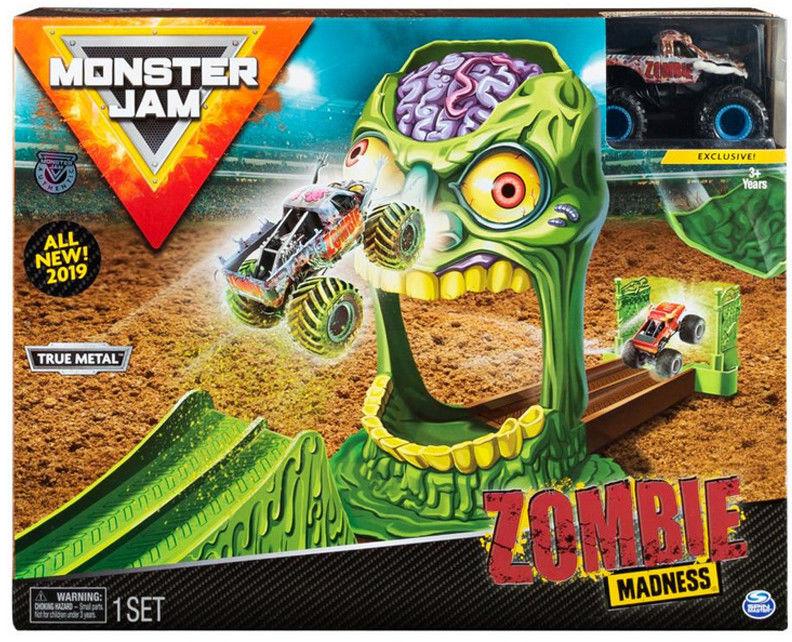 Spin Master - Monster Jam wyczynowe zestawy Zombie 20103383