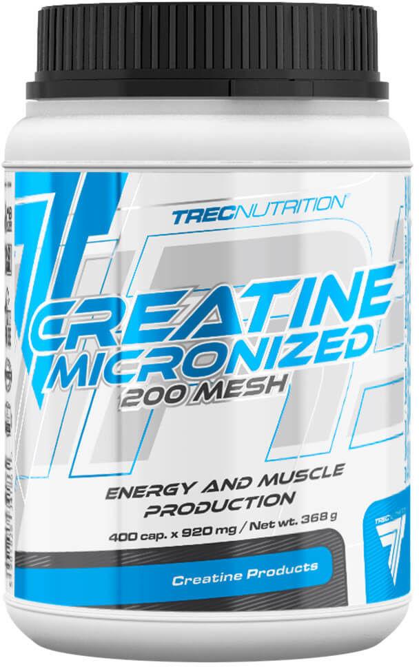 TREC CREATINE MICRONIZED 200 mesh 400 kaps.