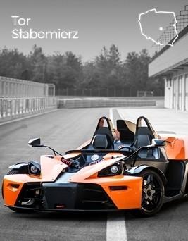 Jazda za kierownicą KTM X-BOW  Tor Słabomierz