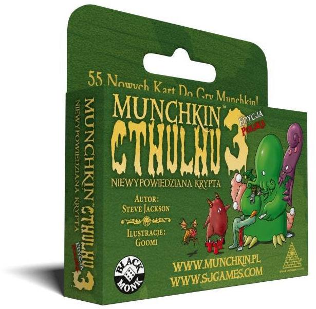 Gra Munchkin Cthulhu 3 Niewypowiedzia Krypta