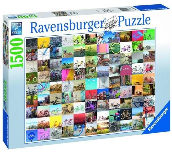 Puzzle 1500 99 rowerów - Ravensburger