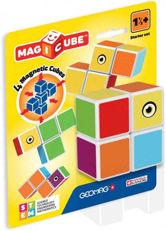 Geomag - Magicube Magiczne kostki Zestaw startowy 136