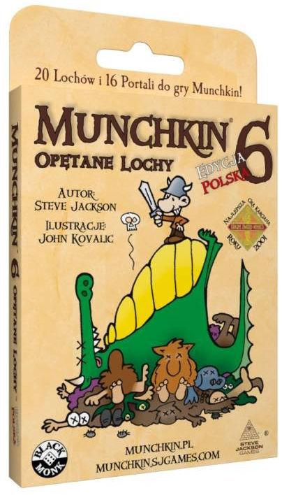 Gra Munchkin 6 Opętane Lochy Dodatek