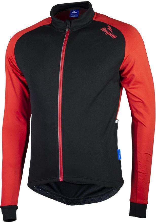 ROGELLI BIKE 001.526 CALUSO 2.0 bluza rowerowa czarno-czerwona Rozmiar: XL,rogelli caluso 2.0 black-red