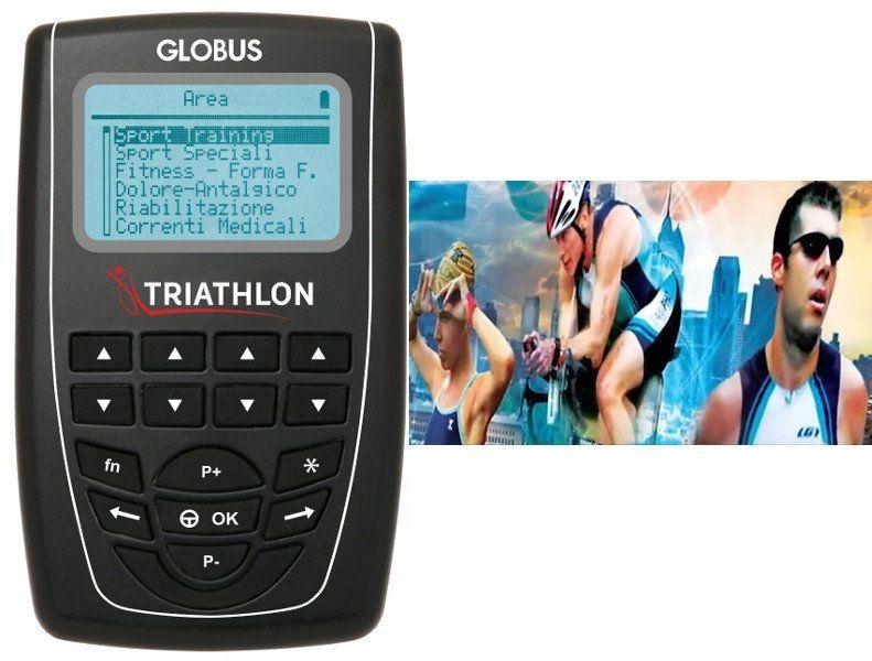 Elektrostymulator 4-kanałowy Globus TRIATHLON PRO dla triathlonistów