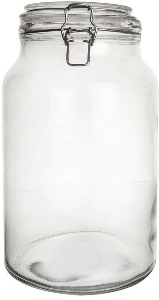 Słoik / pojemnik szklany patentowy 4,2l