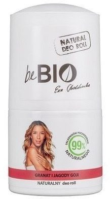 BeBio Ewa Chodakowska Naturalny dezodorant roll-on GRANAT i JAGODY GOJI 50ml