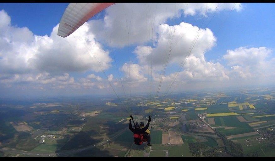 Lot paralotnią - Wrocław - najdłuższy lot