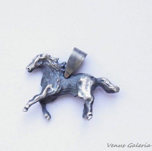 Wisiorek srebrny - Koń II