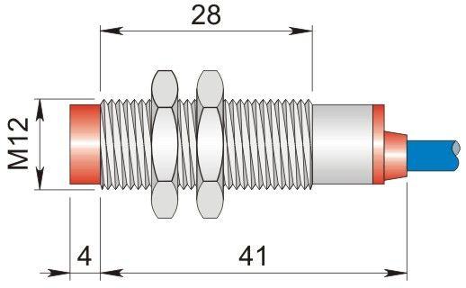 Czujnik indukcyjny 12 mm SI12-NE4