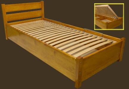 Łóżko sosnowe Lech