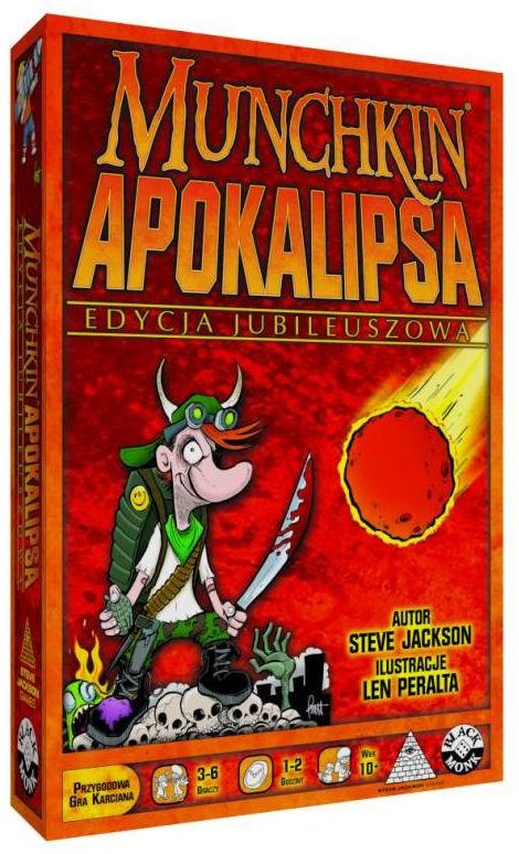 Gra Munchkin Apokalipsa Edycja Jubileuszowa