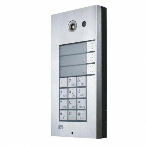 9137131KU Helios IP VARIO Domofon VoIP 3 przyciski + klawiatura - 2N