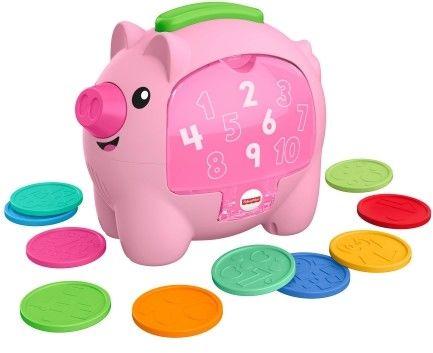 Fisher Price Edukacyjna świnka skarbonka GJC76