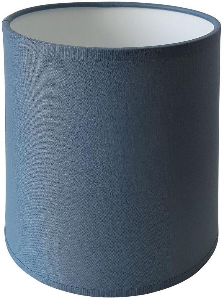 Abażur 9970 walec 20 x 16 cm tkanina niebieski E27 TK LIGHTING