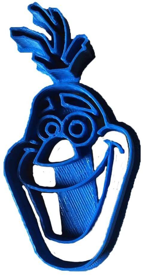 cuticuter Olaf krajalnica do masy cukrowej, niebieska, 8 x 7 x 1,5 cm