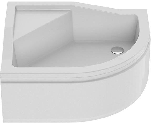 New Trendy Brodzik MAXIMA , lewy, podwyższone siedzisko 100 x 80 x 38,5cm B-0367