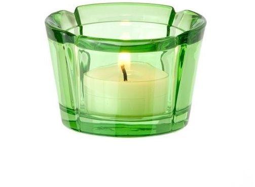 Rosendahl - szklany świecznik, zielony