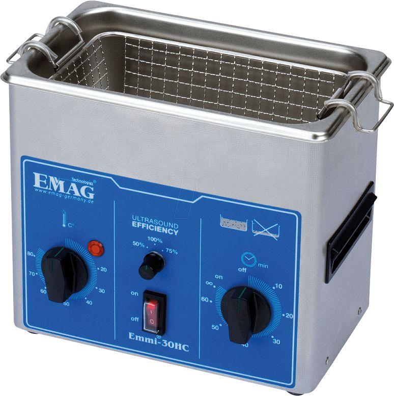 Myjka ultradźwiękowa EMAG Emmi-30HC Emmi-30HC
