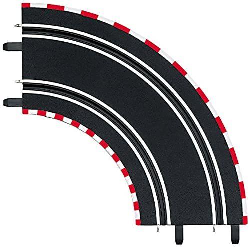Carrera 61603 20061603 cyfrowy 143 / GO krzywa 1/90  (2) gniazdo samochodowe akcesoria wyścigowe
