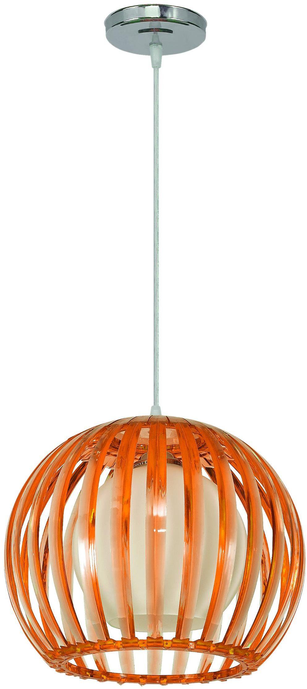 Lampex Wenus brąz 329/1 BRA lampa wisząca nowoczesna brązowy klosz z tworzywa sztucznego 1x60W E27 30cm