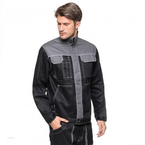 Bluza robocza ICARUS AVACORE w kolorze czarno- szarym