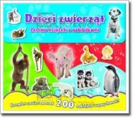 Dzieci zwierząt-zestaw książek z naklejkami