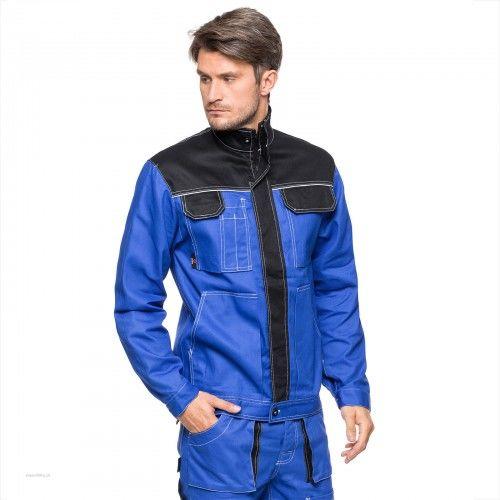 Bluza robocza ICARUS AVACORE w kolorze niebiesko- czarnym