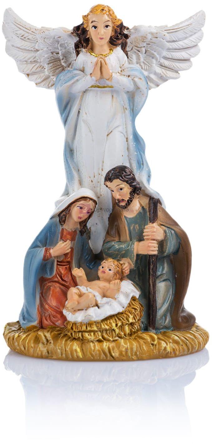 Figurka - Święta Rodzina - anioł - 11 cm - Classic