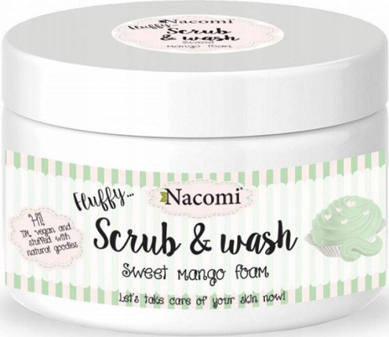 Nacomi - Scrub & Wash - Pianka peelingująco-myjąca - Słodkie mango