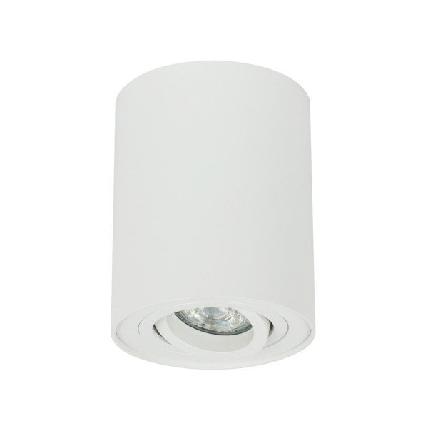 Oprawa sufitowa spot tuba natynkowa CROSTI CORTO RO biały śr. 9,7cm - biały