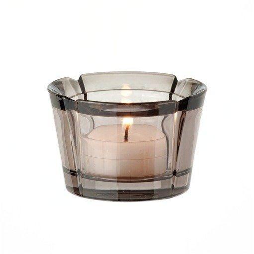 Rosendahl - szklany świecznik, przyciemniany