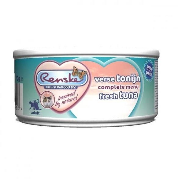 Renske fresh meat Tuna 24x70g
