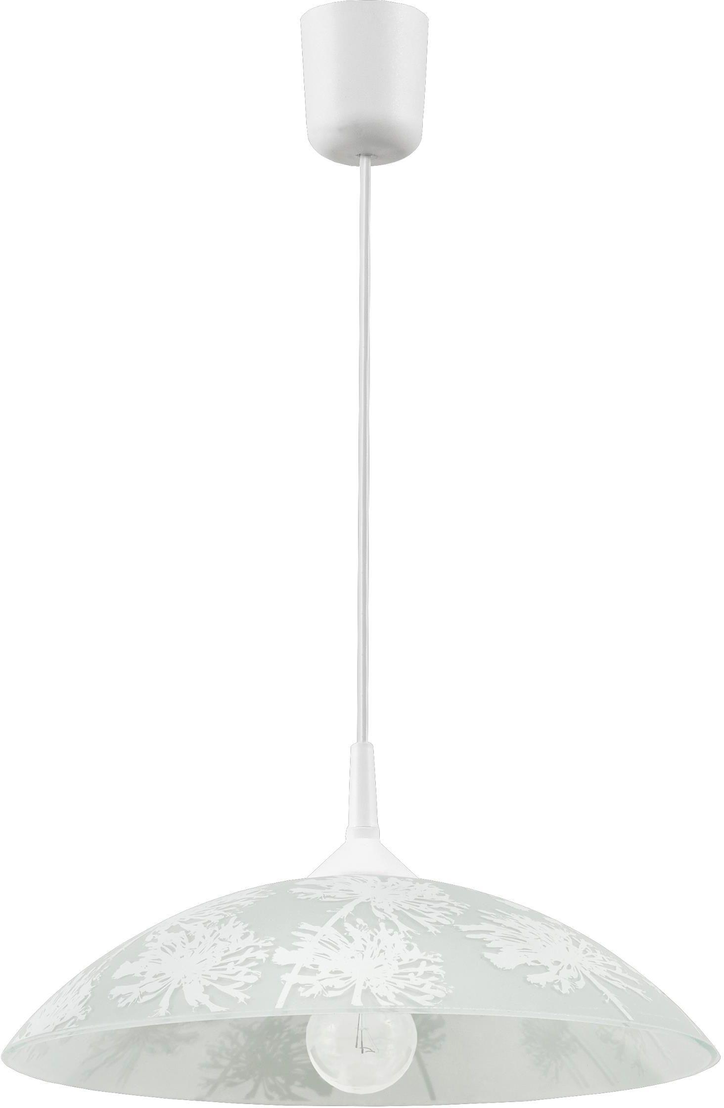 Lampex Winter Z1 378/Z1 lampa wisząca klasyczna szklany klosz 1x60W E27 35cm